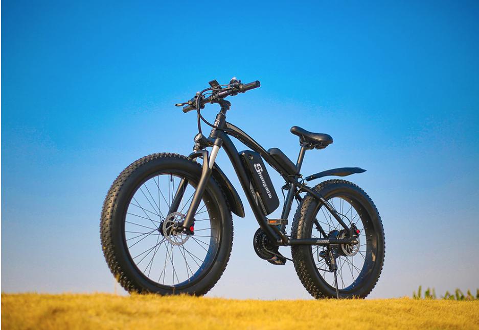 MX02S Electric bike 48v 1000W 4.0 Fat Tire Ebike 26 inch Snow Bike 17Ah Adult Mountain bike 40km/h Cruiser Electric Bicycle